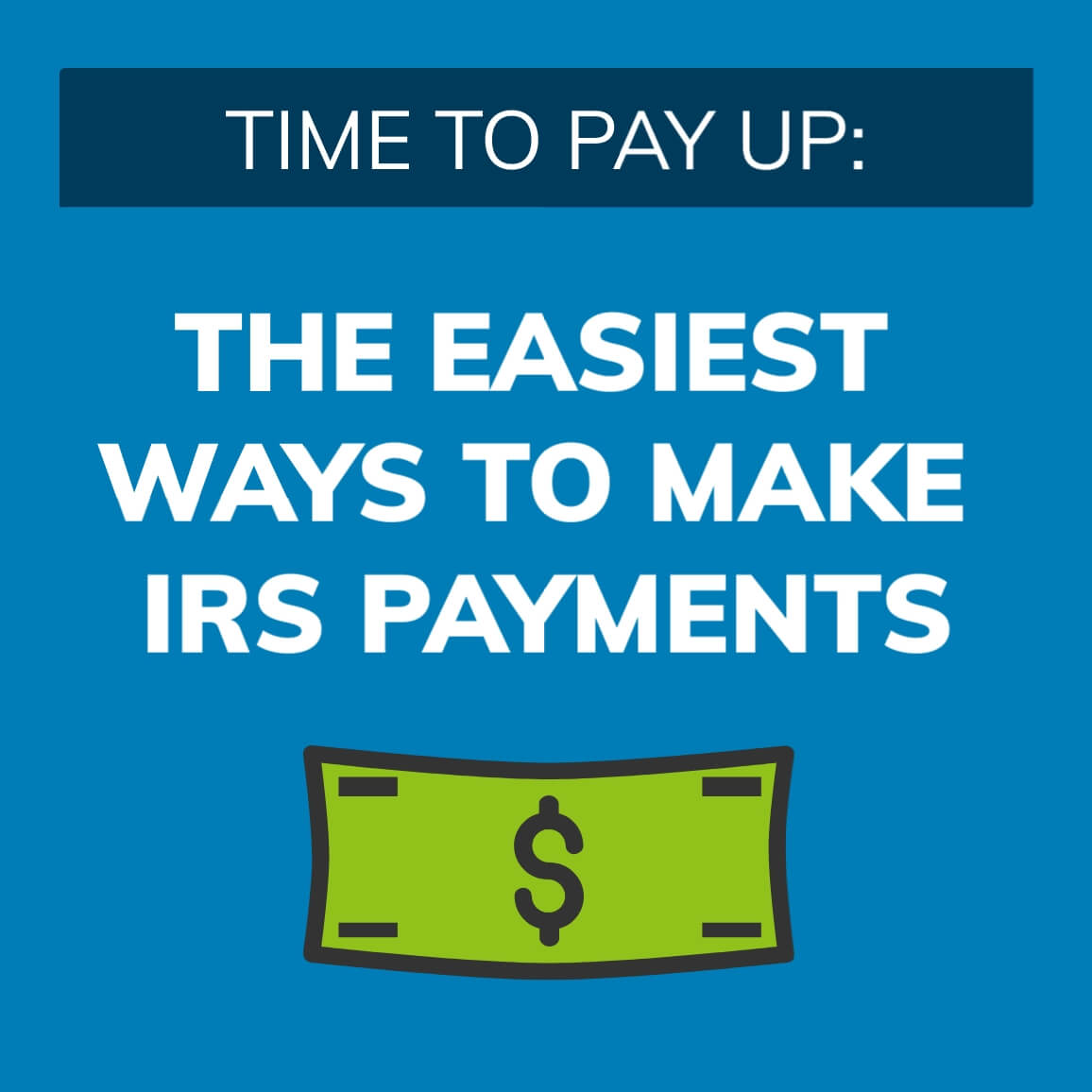 4 Ways to Make IRS Payments image